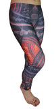 Fractal Leggings Design 518