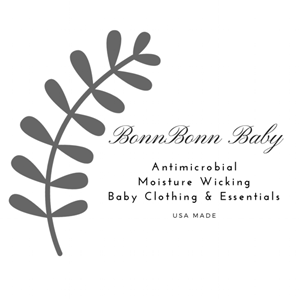 BonnBonn Baby Antimicrobial Moisture Wicking Baby Essentials