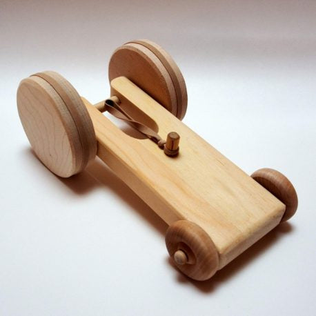 Wood Dragster Car
