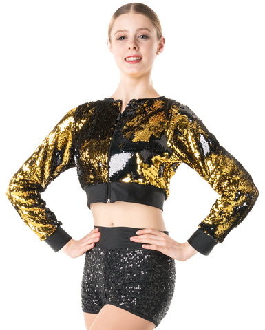 Studio 7, Stage Lights Cropped Jacket, (2 Colours) Adults, ADJ01