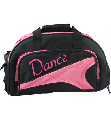 Studio 7, Mini Duffel Bag, Black/Hot Pink, DB08 (Dance)