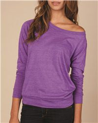 Ladies Eco Jersey Slouchy Pullover-falcons