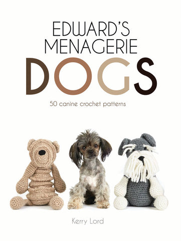Edwards Menagerie Dogs Crochet Pattern Book
