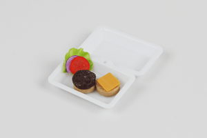 To-Go Cheeseburger - 1