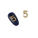 Nail Charm Jewelry 3D COCO No. 5 Gold