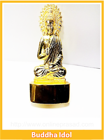 The Blessing Lord Buddha Idol , Zevotion Idols - Zevotion, OnlinePrasad.com
