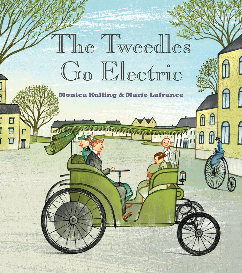 Cover of The Tweedles Go Electric Signed Hardcover Edition