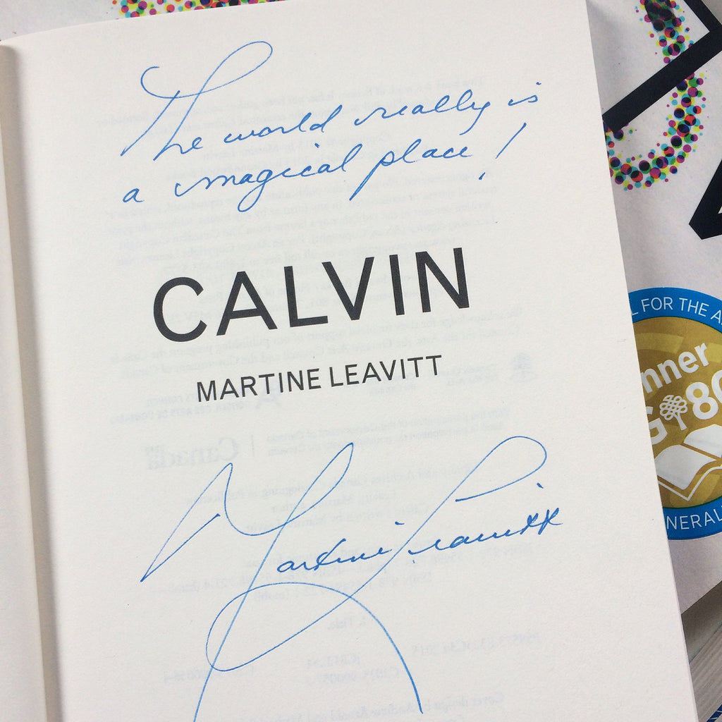 Calvin Signed First Edition Paperback