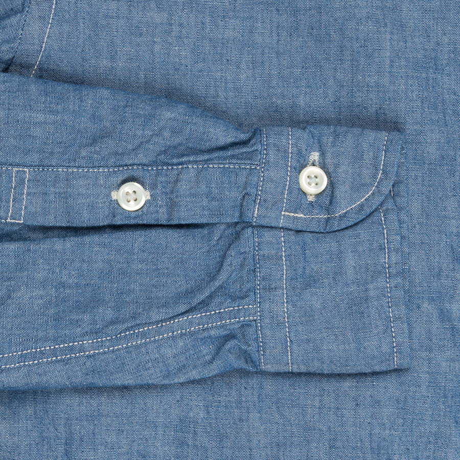 Orslow chambray button down shirt