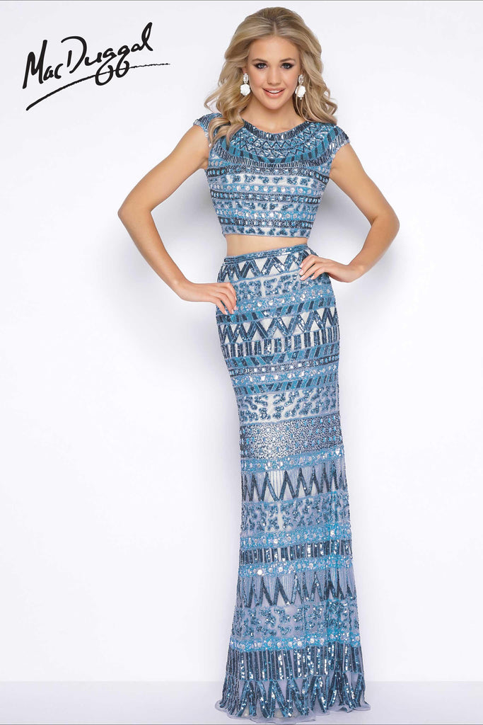 Mac Duggal 4515A - The Pageant Boutique UK  - 1