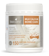 Bio Island Milk Calcium Bone Care 150 Caps - EGG Maternity NZ Ltd