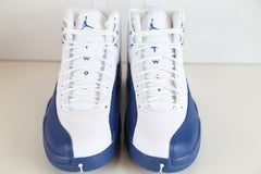 Nike Air Jordan Retro 12 French Blue White  130690-113 Adult and GS Kids