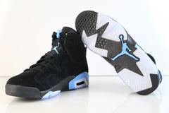Nike Air Jordan Retro 6 Black University Blue UNC 384664-006