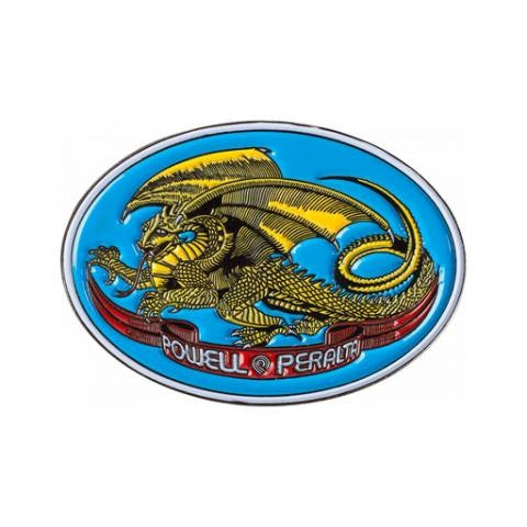 POWELL OVAL DRAGON PIN