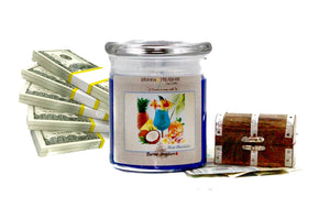 Blue Hawaiian Cash Candle