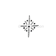 Lori Sparkly Franklin | LF5335B - Sparkle Doodle #2 - Rubber Art Stamp