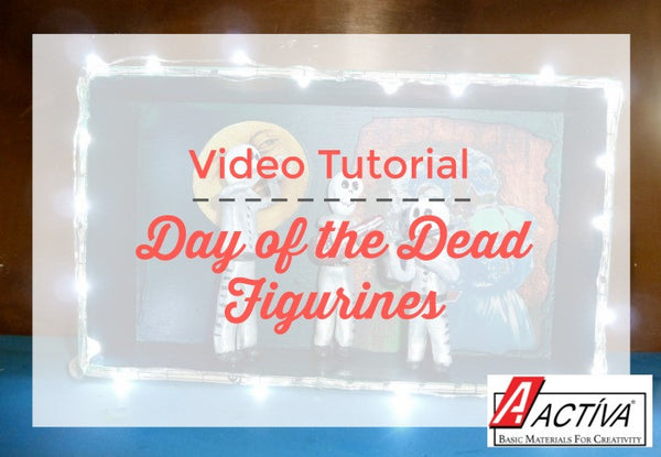 How to Make Day of the Dead Figurines with Clay
