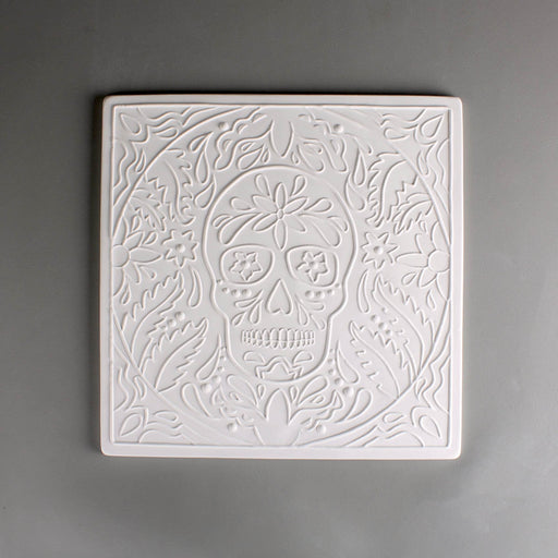 Day of the Dead Texture Mould - chockadoo