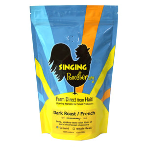 French Dark Roast , Singing Rooster - Vineworks Fair Trade