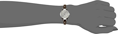 Fossil Women's ES3060 Georgia Three Hand Tan Leather Strap Watch