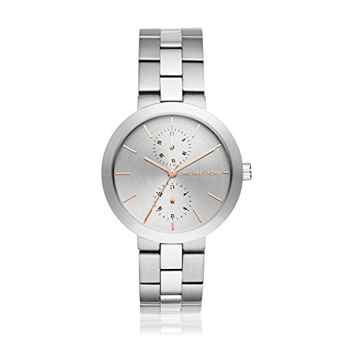 Michael Kors Women's Garner Silver-Tone Watch MK6407