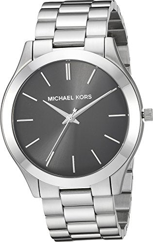 Michael Kors  Men's Slim Runway Silver One Size