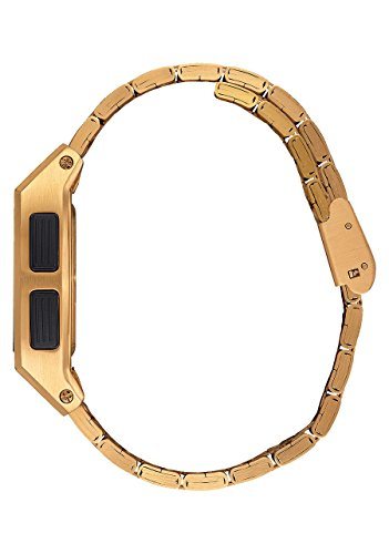 Nixon Base Digital Watch All Gold plus Origami Watch Sleeve