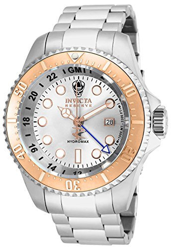 Invicta Men's 16964 Reserve Analog-Display Swiss Quartz Silver-Tone Watch