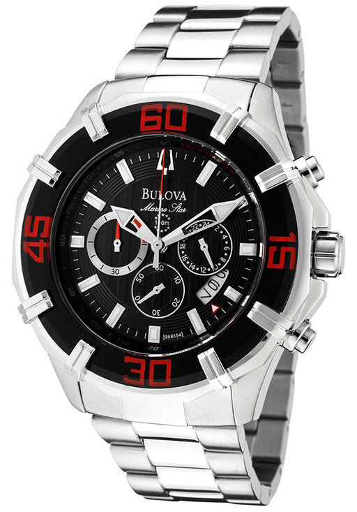 Bulova Men's 96B154 Solano Marine Star Chronograph Watch