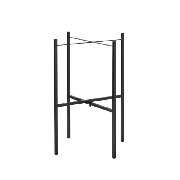 TRAY TABLE STAND FOR 1 TRAY, BLACK