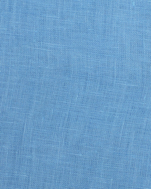 FRENCH BLUE linen swatch PINK HOUSE MUSTIQUE