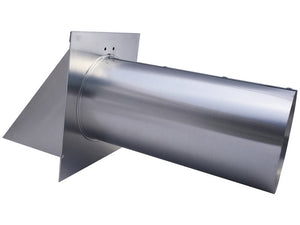 4 Inch Wall Vent (Side View)