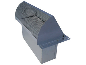 Rectangular Wall Vent Galvanized