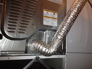 Venting A Clothes Dryer With Flexible Transition Duct