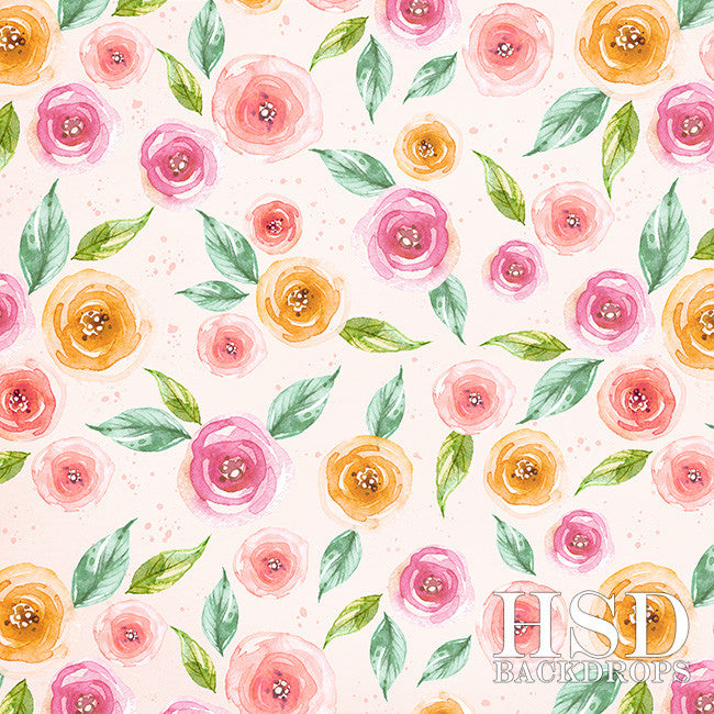 Photography Backdrop Background | Kaylee Floral