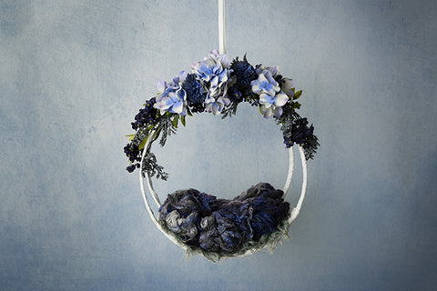 Digital Backdrop | Hanging Basket IV Coll. | Midnight