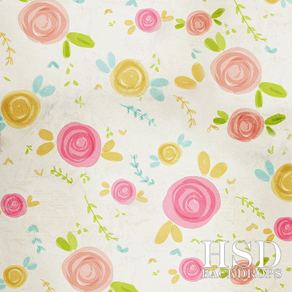 Photography Backdrop Photo Background | Blooms