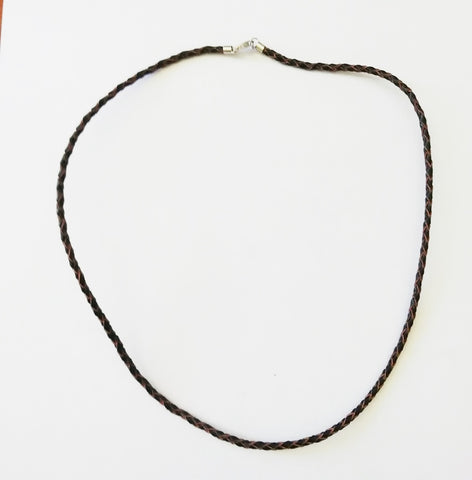 Brown Bolo Leather Necklace - Neckwear - Rebelroad.co.za