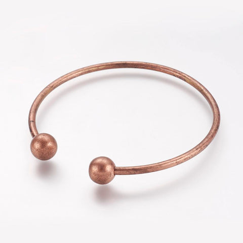 Copper Cuff Bangle - Bracelets - Rebel Road