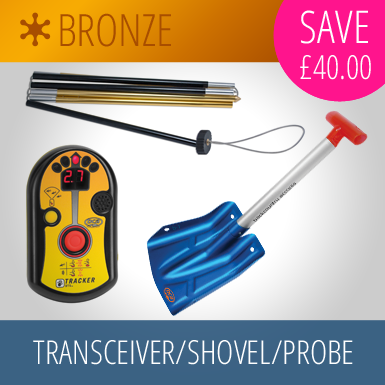 Transceiver/Shovel/Probe Bronze Package