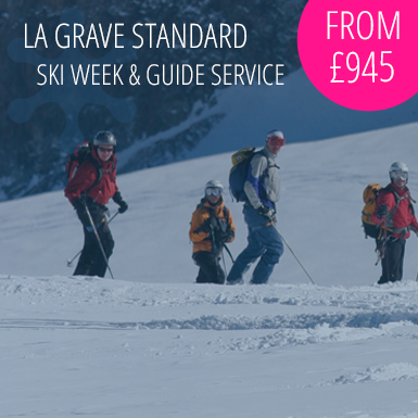 La Grave Standard Ski Week with Guide Service
