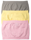 Bandeau Tube Top (Pack of 3)