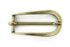 Aged gold slimline prong buckle 20mm