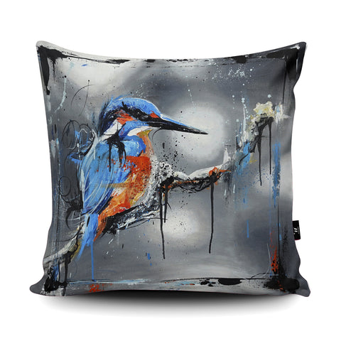 The Waiting Game Cushion by Aidan Sloan