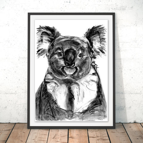 Koala Original Print by Bex Williams