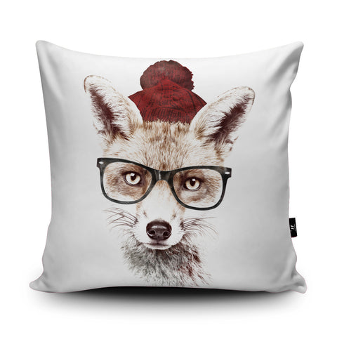 Cold Outside Cushion by Robert Farkas