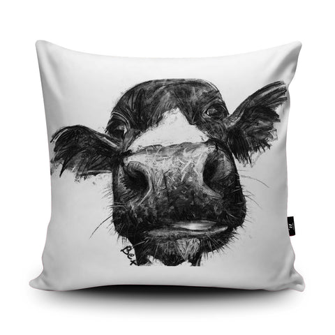 Cow Cushion by Bex Williams