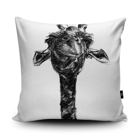 Giraffe Cushion by Bex Williams