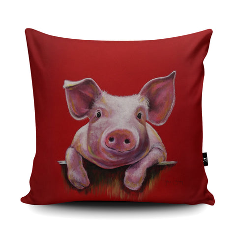 Little Piggy Cushion by Adam Barsby