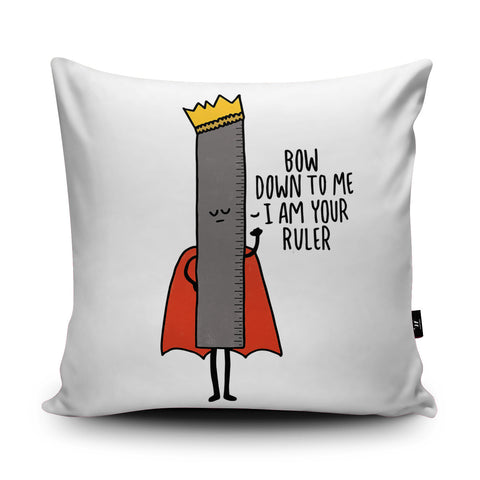Ruler Cushion by Leeann Walker